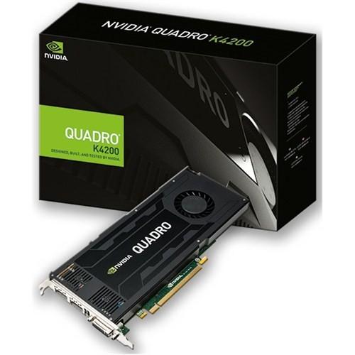 PNY Nvidia Quadro K4200 4GB 256Bit DDR5 (DX11) PCI-E 2.0 Ekran Kartı (VCQK4200-PB)