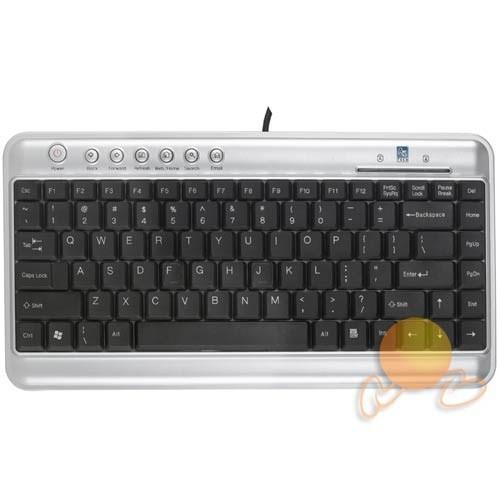 A4 Tech KL-5UP Q Mini Multimedya USB Klavye