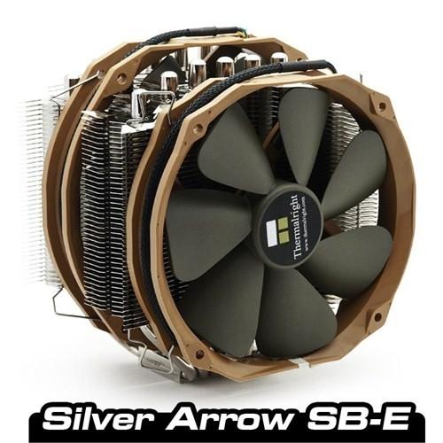 Thermalright Silver Arrow SB-E Çift Fanlı Intel LGA2011 ve AMD FM1 İşlemci Soğutucusu (TR-SARW)