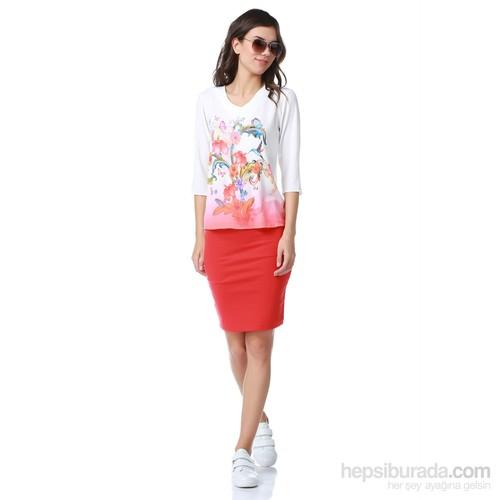 Dewberry Kadın Bluz Z6088
