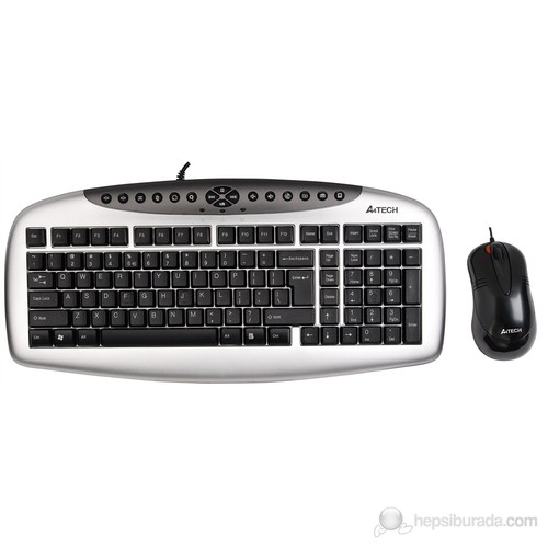 A4 Tech KB-2150D Q-Tr PS/2 Klavye+Mouse Seti