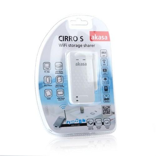 Akasa Cirro S Kablosuz HDD / Dosya Paylaşım İstasyonu (AK-WFS-01)