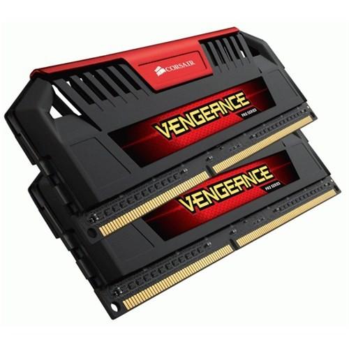 Corsair Vengeance Pro 8GB (2x4GB) 2400MHz C11 DDR3 Soğutuculu Kırmızı Ram (CMY8GX3M2A2400C11R)