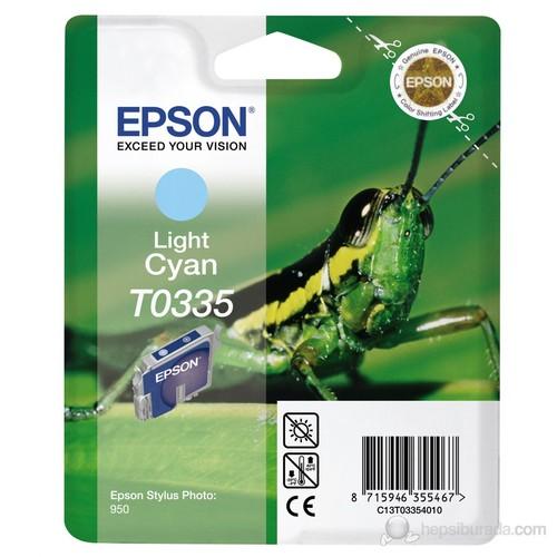 Epson C13T033540 / T0335 Açık Mavi Kartuş