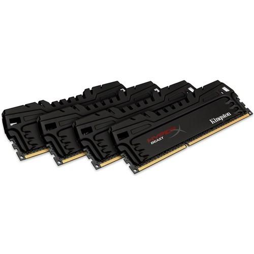 Kingston HyperX Beast 32GB(4x8GB) 2400MHz DDR3 Performans Ram (HX324C11T3K4/32)