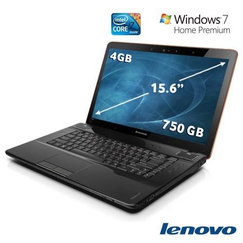 """Lenovo (IBM) Y560 Intel Core i7 740QM 1.73GHZ 4GB 750GB 15.6"""" Taşınabilir Bilgisayar 59-050951"""