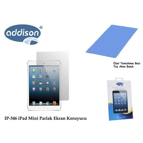 Addison Ip-346 İpad Mini Ultra Şeffaf Ekran Koruyucu