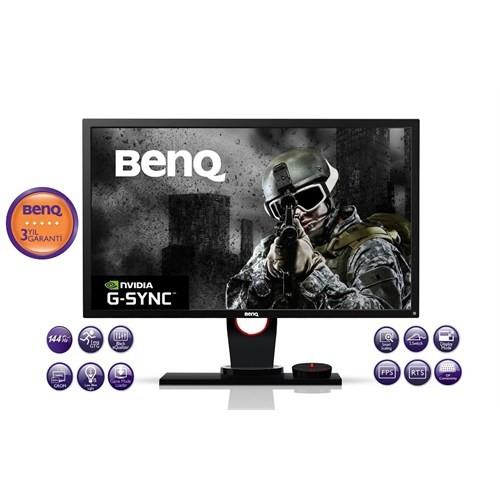 """BenQ XL2420G 24"""" 1ms G-SYNC (DVI+2xHDMI+Display) Full HD Led Oyuncu Monitör"""