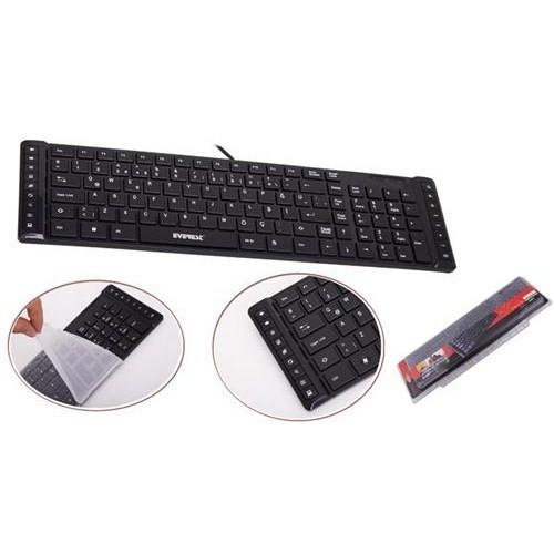 Everest KB-881U USB Ultra Slim Multimedya Klavye