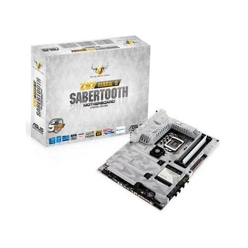 Asus SABERTOOTH MARK S Intel Z97 1866MHz DDR3 LGA1150 ATX Anakart