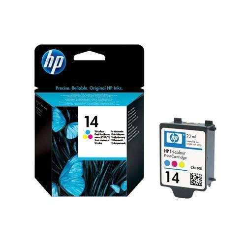 HP 14 Mürekkep Kartuş C5010DE / C5010D