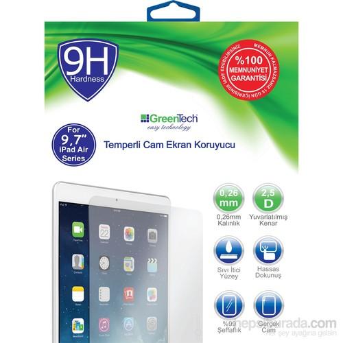 """Greentech Apple iPad Air Glass Cam 9,7"""" Ekran Koruyucu"""