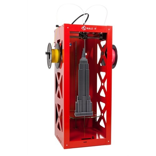 Big Builder Kırmızı 3D Printer
