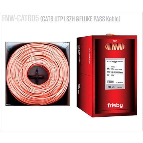 Frisby FNW-CAT605 Cat6 UTP Utp Lszs&Fluke Pass 305mt Kablo