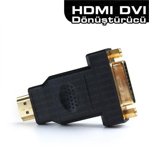Dark DVI-D - HDMI Dönüştürücü (DVI-D dişi - HDMI erkek) (DK-HD-AMHDMIXFDVI)
