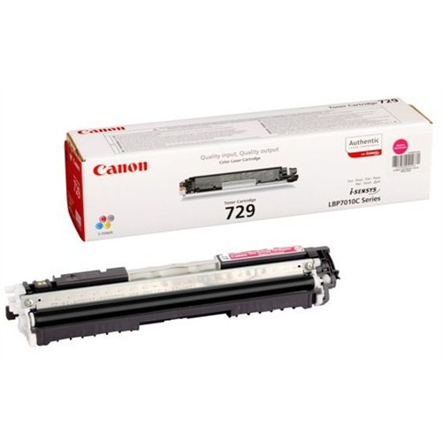 Canon CRG-729M 1000 Sayfa Kapasiteli Kırmızı Toner