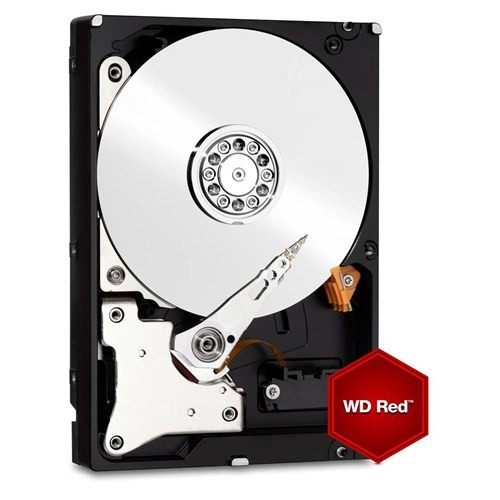 """WD Red NAS 8TB 5400RPM Sata 3.0 128MB Cache 3.5"""" Sabit Disk WD80EFZX"""