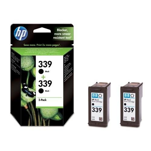 HP 339 Siyah Mürekkep Kartuş - 2' li EKO Paket C9504E / C9504EE