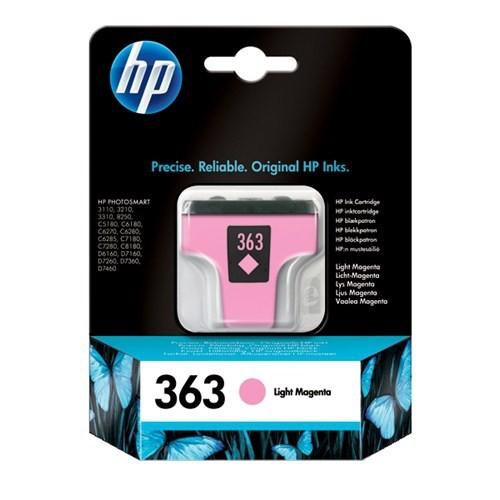 HP 363 Açık Kırmızı Mürekkep Kartuş C8775EE / C8775E