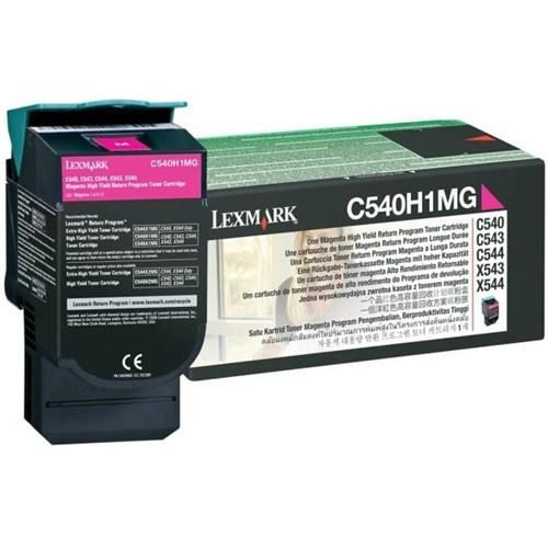 Lexmark C540H1MG 2000 Sayfa Kapasiteli Kırmızı Toner