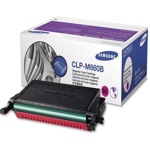 Samsung CLP-M660B 5000 Sayfa Kapasiteli Kırmızı Toner