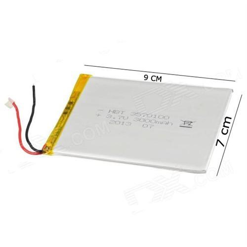 Logicom 7 İnç E731 3.7V 3000Mah Tablet Batarya