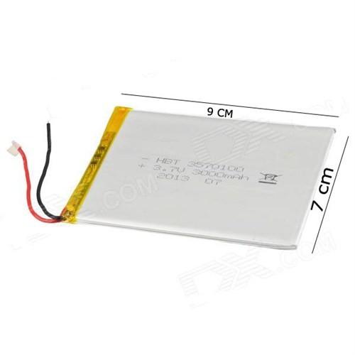 Hometech 7 İnç Mid708 3.7V 3000Mah Tabletbatarya