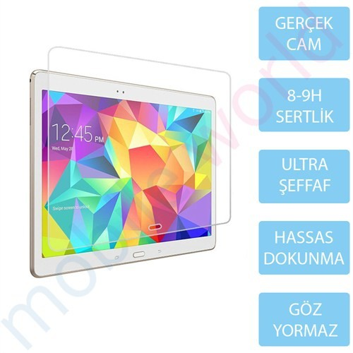 "Mobile World Samsung Galaxy T800 10.5"" Cam Ekran Koruyucu"