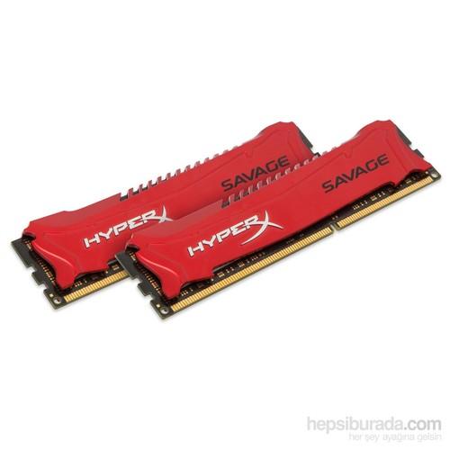 Kingston HyperX Savage 8GB(2x4GB) 1600MHz DDR3 Ram (HX316C9SRK2/8)