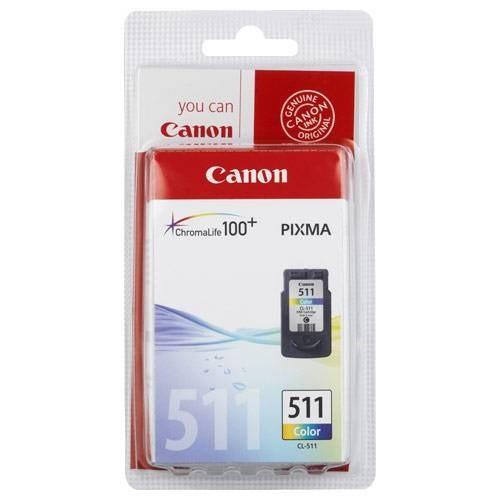 Canon Cl 511 Renkli Orjinal Kartuş (Bitmeyen Kartuş Sistemine Uyumlu, Delinmiş Ve Hazır Olarak)