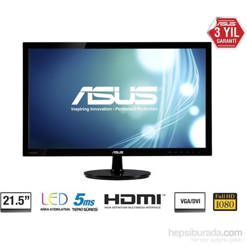 "Asus VS228HR 21.5"" 5ms (Analog+DVI+HDMI) Full HD Led Monitör"