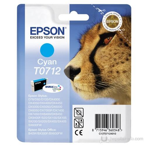 Epson C13T07124021 / T0712 Mavi Mürekkep Kartuş