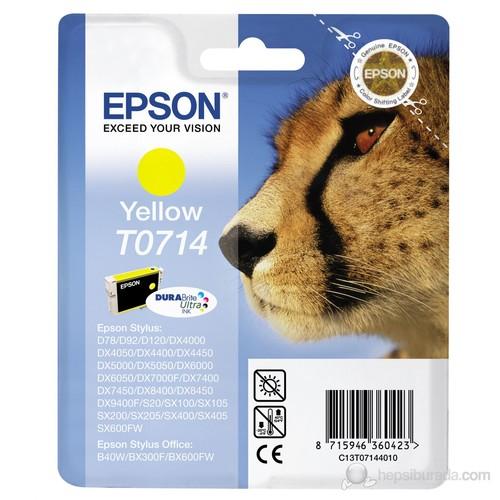 Epson C13T07144021 / T0714 Sarı Mürekkep Kartuş