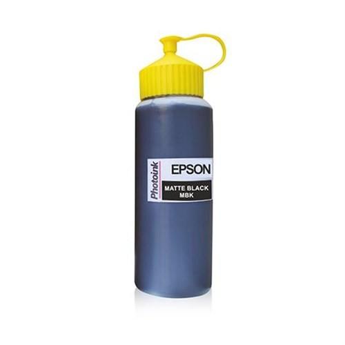 Epson Plotter İçin Uyumlu 500 Ml Pigment Matte Black Mürekkep Photo Ink Akıllı Mürekkep