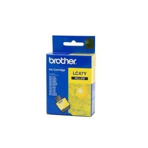 Brother LC_47Y Sarı Mürekkep Kartuş