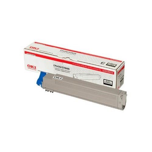 Oki C9600-9800 Siyah Toner 42918964