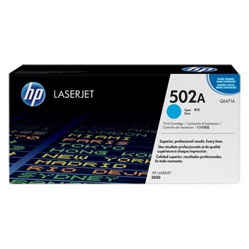 HP 502A 4000 Sayfa Kapasiteli Mavi Toner Q6471A
