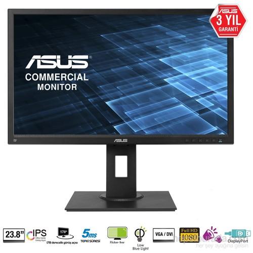 "Asus BE249QLB 23.8"" 5ms (Analog+DVI-D+Display) Full HD IPS Led Monitör"