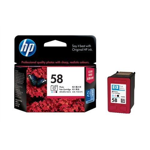 HP 58 Fotoğraf Kartuşu C6658AE / C6658A