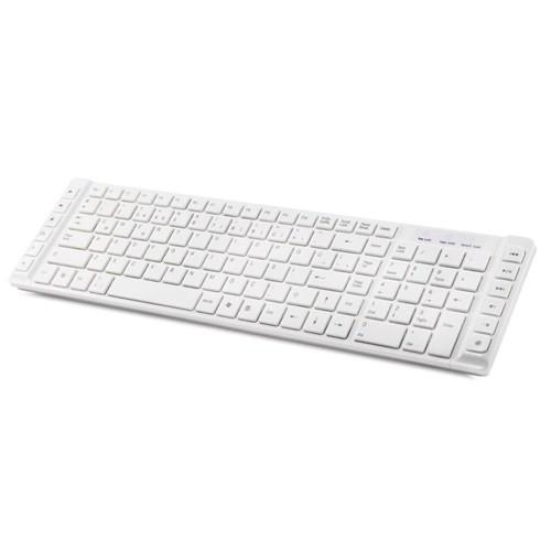 Everest KB-690 Beyaz USB Multimedya Süper Slim Klavye