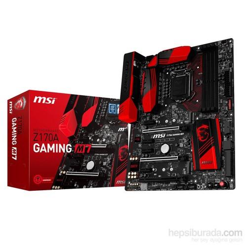 MSI Z170A GAMING M7 Intel Z170 Express 3400MHz(OC) DDR4 Soket 1151 ATX Anakart