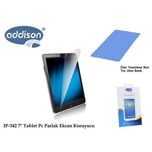 Addison Ip-342 7` Samsung Galaxy Tab 3 Ultra Şeffaf Ekran Koruyucu