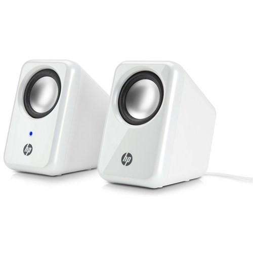 HP Multimedia 2.0 White Speaker H3W58AA