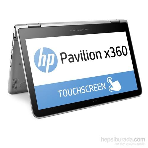 """HP Pavilion x360 13-s102nt Intel Core i3 6100U 2.3GHz 4GB 500GB 13.3"""" Taşınabilir Bilgisayar P4A53EA"""