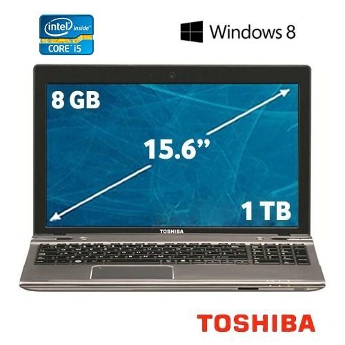 "Toshiba Satellite P855-349 Intel Core i5 3230M 2.6GHz 8GB 1TB 15.6"" Taşınabilir Bilgisayar"