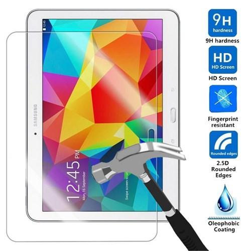 """Case 4U Samsung Galaxy Tab4 10.1"""" T530 Kırılmaz Cam Ekran Koruyucu"""