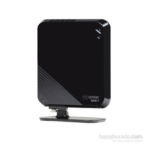 Technopc Nano2 Hd516-230 Intel Dual Core 2Gb 30Gb Ssd F.Dos Mini Pc