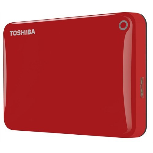 "Toshiba Canvio Connect II 2TB 2.5"" Kırmızı Taşınabilir Disk HDTC820ER3CA"