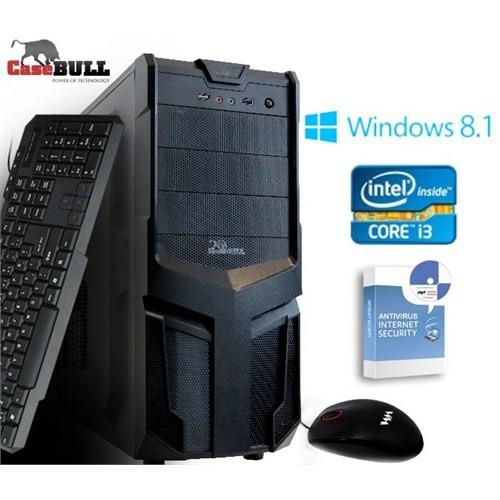 CaseBull PCI3054OBW8S Intel Core i3 350M 2.26GHz 4GB 500GB Masaüstü Bilgisayar + Antivirüs Hediyeli