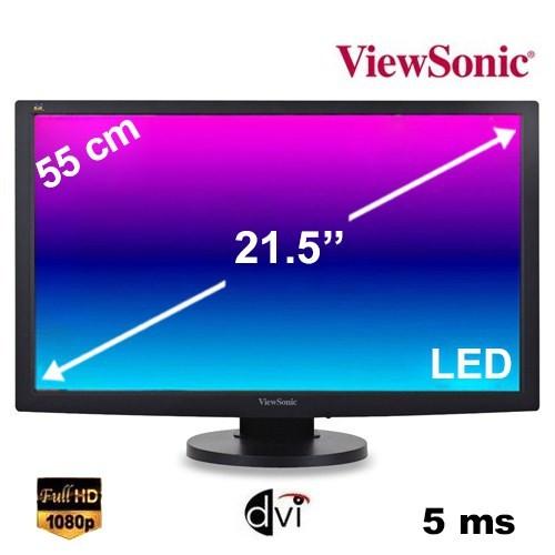 "Viewsonic VG2233-LED 21.5"" 5ms (Analog+DVI) Full HD LED Monitör"